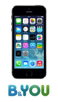 b yoy propose un iphone 5s pas cher avec son r seau 4g. Black Bedroom Furniture Sets. Home Design Ideas