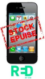 Un iPhone 4 à 318€ chez RED SFR!