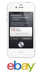 Un iPhone 4S pas cher sur Ebay!