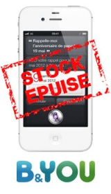 L'iPhone 4S à 349€ sans engagement!