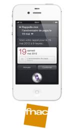 L'iPhone 4S à 190€ à la FNAC!