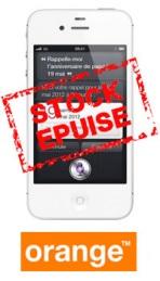 L'iPhone 4S à 9,90€ chez Orange!