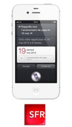 L'iPhone 4S à partir de 1€ chez SFR!