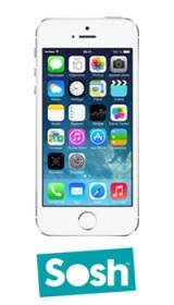 50€ d'économies actuellement sur l'iPhone 5S Sosh!