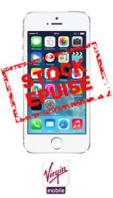 iPhone 5S Virgin Mobile: à partir de 369€!