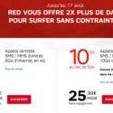 RED SFR double la data jusqu'au 17 aout!