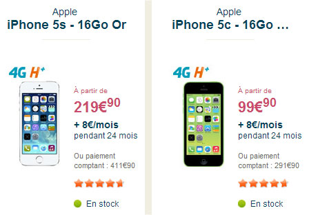 l 39 iphone 4g moins cher ce week end chez bouygues telecom. Black Bedroom Furniture Sets. Home Design Ideas