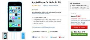 iphone 5c sfr