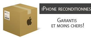 iphone reconditionné