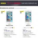 Promotions SFR de Noel pour acheter l'iPhone 6S moins cher!